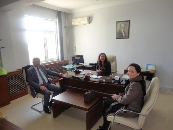 Malkara TSO Yönetiminden Vergi Dairesi Müdürüne Ziyaret