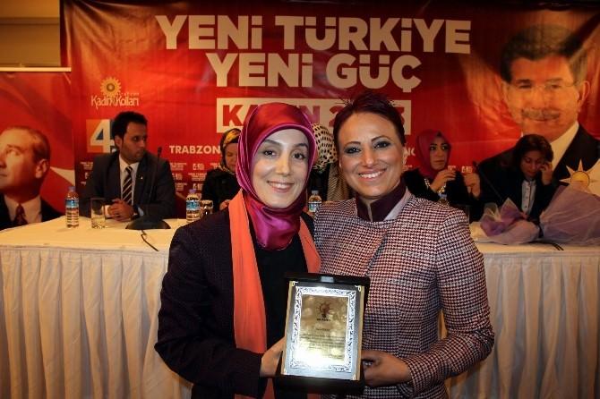 AK Parti Trabzon Kadın Kolları Kongresi Yapıldı