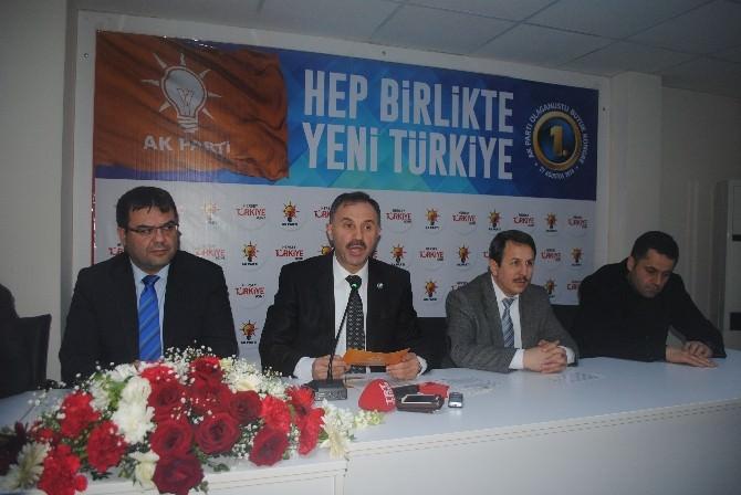 Hasan Ali Cesur, AK Parti'den Aday Adayı