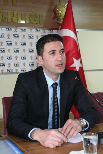 Fatih Kaya, AK Parti Van Milletvekili Aday Adaylığı İçin Başvurusunu Yaptı