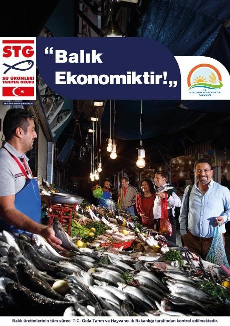 Balık Tüketimi Kamu Spotu İle Artacak