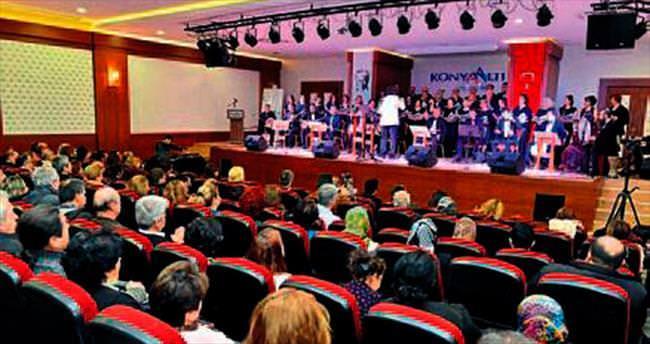 Konyaaltı'da halk müziği ziyafeti