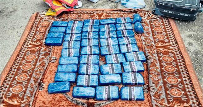 İranlılar 23 kilo eroinle yakalandı