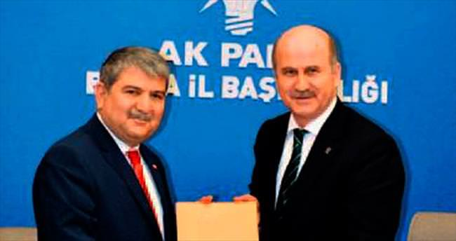 Kani Torun Bursa'dan aday adayı oldu