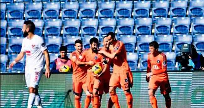 Başakşehir tek golle güldü