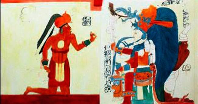 Bin 250 yıllık duvar resimleri bulundu
