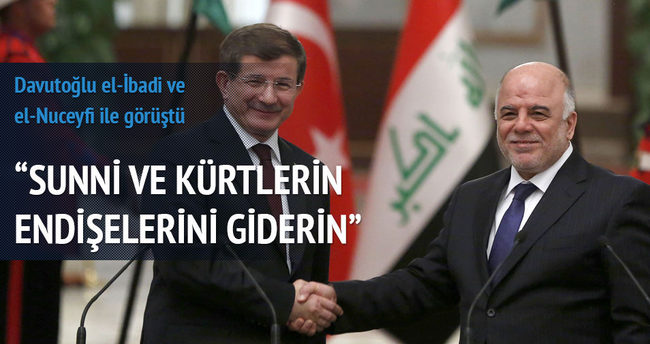 'Sünni ve Kürtlerin endişelerini giderin'