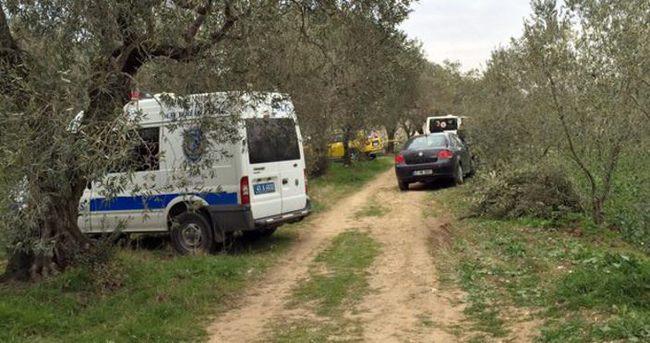 Manisa'da yakılmış kadın cesedi bulundu