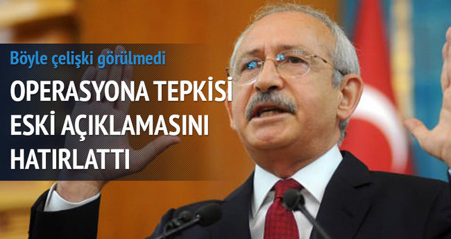 Kılıçdaroğlu'nun büyük çelişkisi