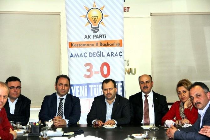 Murat Demir, AK Parti İl Başkanlığını Ziyaret Etti