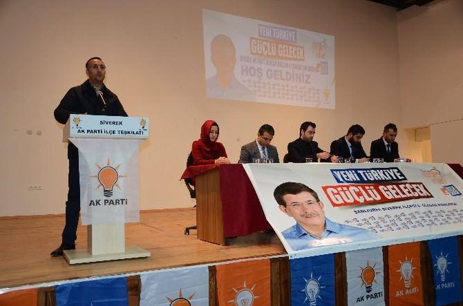 AK Parti Siverek İlçe Gençlik Kolları 4'üncü Olağan Kongresi Yapıldı
