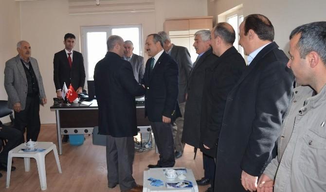 Edremit Ve Tuşba'da Karabıyık'a Sıcak Karşılama