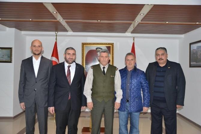 ASKON'dan İl Jandarma Komutanlığı'na Ziyaret
