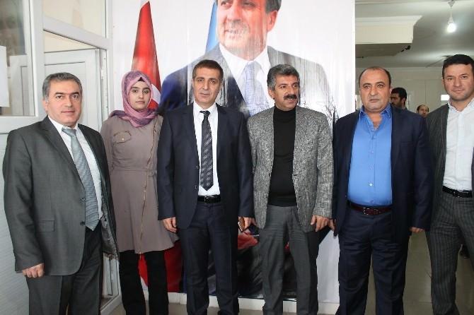 Atik, Partisinin Bismil Ve Çınar Teşkilatlarını Ziyaret Etti