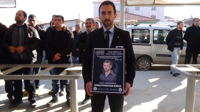 Erzincan'da Fırat Yılmaz Çakıroğlu İçin Gıyabi Cenaze Namazı