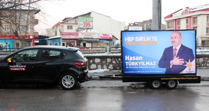 Milletvekili Adayı Türkyılmaz'dan Mobil Tanıtım