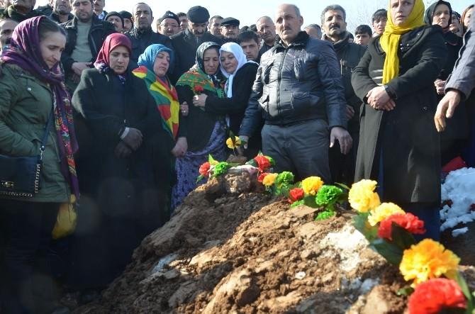 Kobani'de Hayatını Kaybeden YPG'li Yüksekova'da Toprağa Verildi