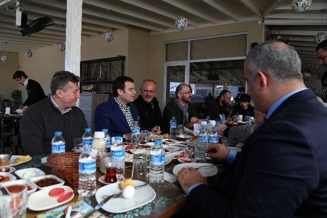 Milletvekili Aday Adayı Kemal Öztürk, Sakarya Basınıyla Buluştu