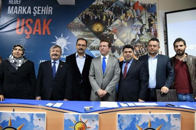 AK Parti Uşak'a Güçlü Bir Aday Adayı Daha Katıldı