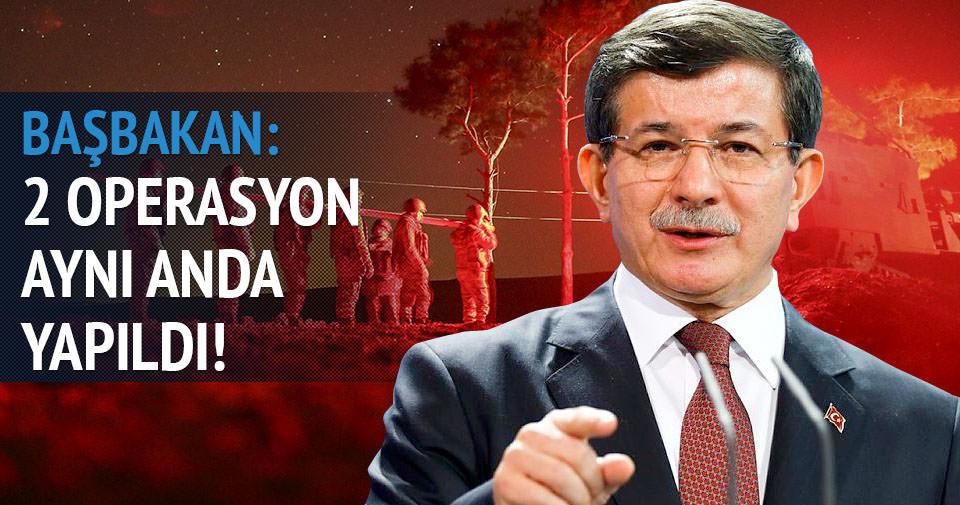 Davutoğlu, Şah Fırat Operasyonu'nu anlattı