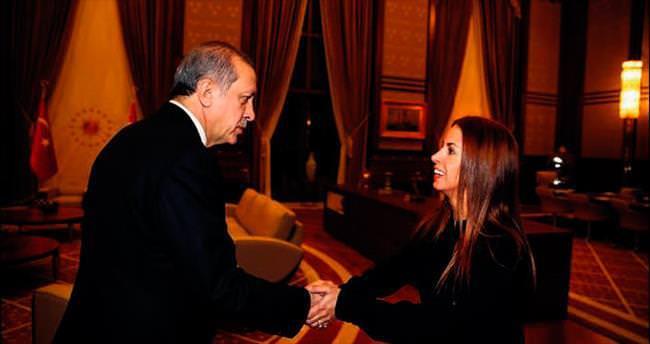 Niran Ünsal Erdoğan'la görüştü