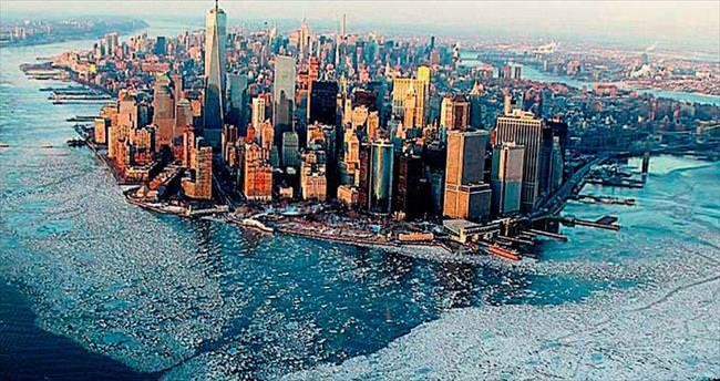 'Sibirya Ekspresi' New York'u beyaza boyadı