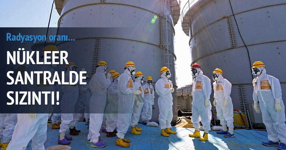 Fukuşima santralinde sızıntı!