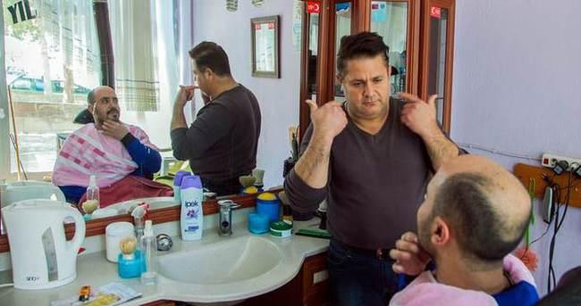 İşaret diliyle tıraş