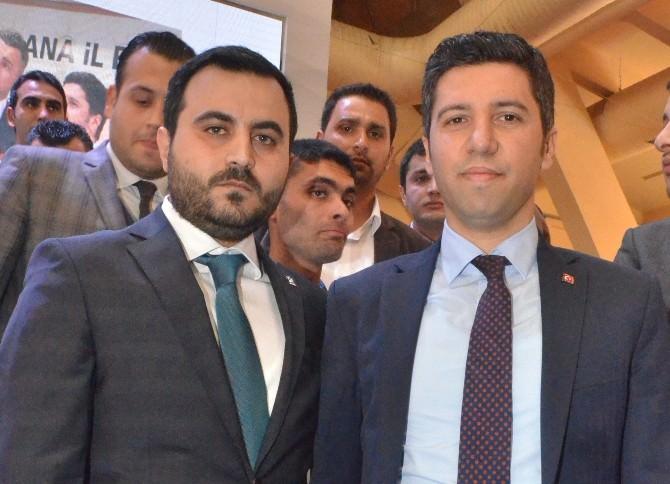 Adana AK Gençlik Alper Güler'e Emanet