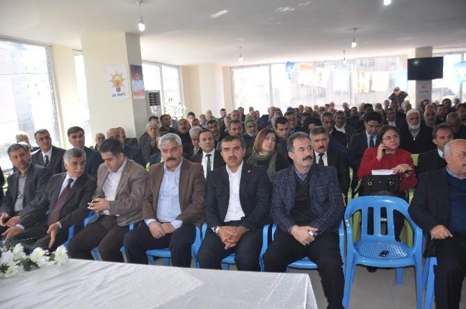 AK Parti Kahta Danışma Meclisi Toplantısı Yapıldı