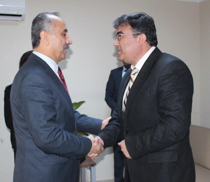 Başkan Culha, Emniyet Müdür Vekilini Ziyaret Etti