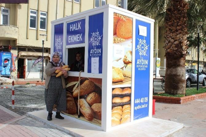Sultanhisar'da Halk Ekmek Satışları Başladı