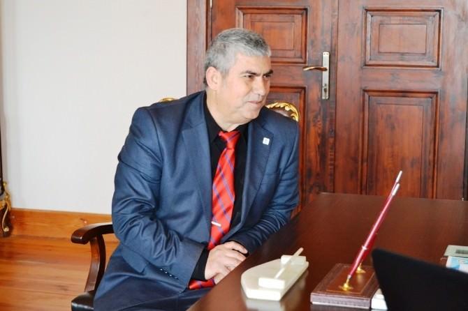 Etp Genel Başkanı Parmaksız'dan Kaymakam Nazlı'ya Anlamlı Ziyaret