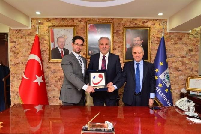 Başkonsolos Balazs Hendrıch, Başkan Saraçoğlu'nu Ziyaret Etti