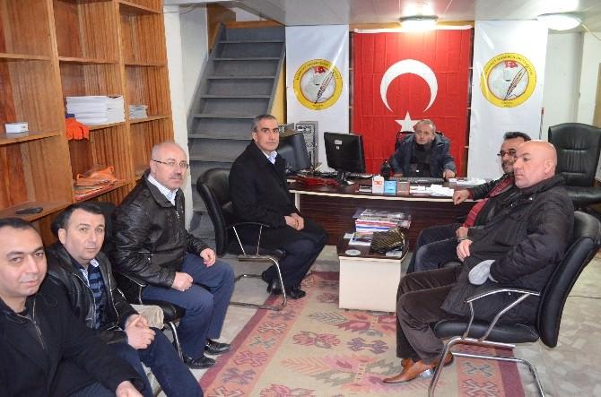BBP Battalgazi Ve Yeşilyurt İlçe Başkanlarından İhacder'e Ziyaret