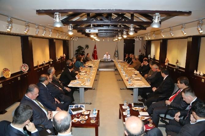 Büyükşehir'de Yatırım Ve Değerlendirme Toplantısı