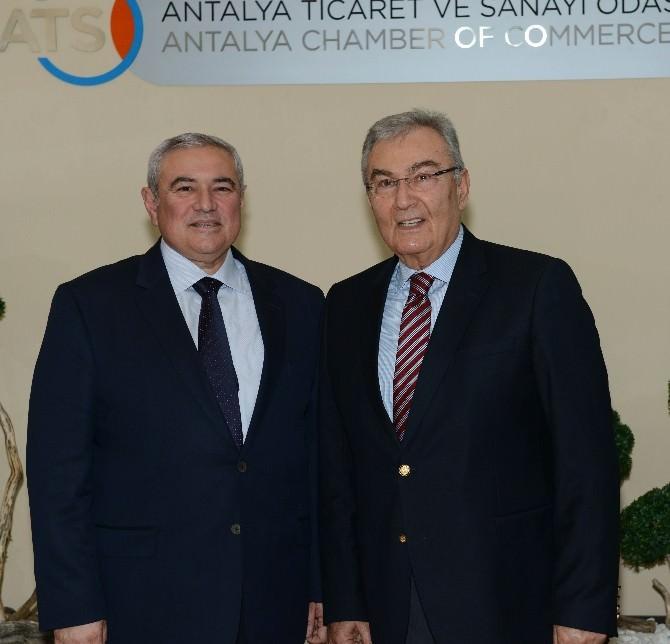 Baykal'dan Başkan Çetin'e Hayırlı Olsun Ziyareti