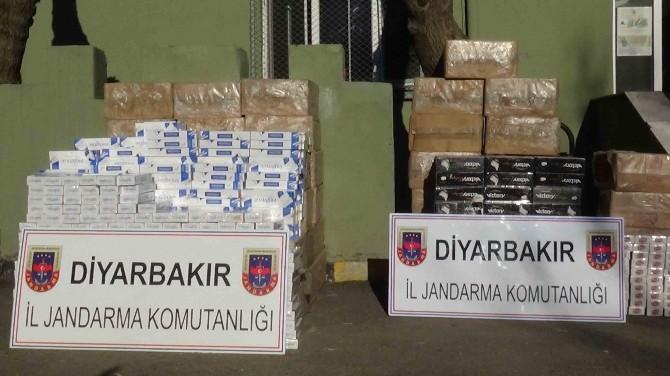 Kulp'ta 39 Bin Paket Kaçak Sigara Ele Geçirildi