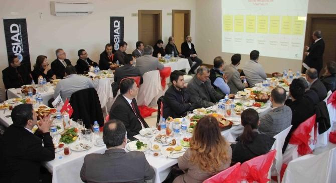Başkan Genç, Osiad Üyeleri İle Bir Araya Geldi