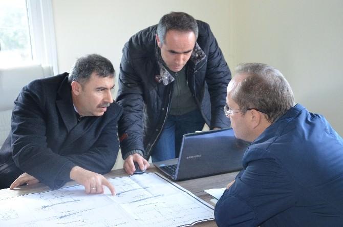 DSİ 13. Bölge Müdürü Özgür, Manavgat'ta Gölet İnşaatlarını İnceledi