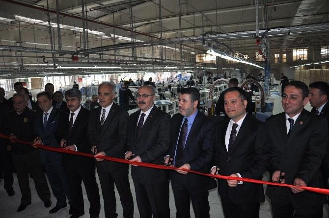 Dünyada İlk Olma Özelliğine Sahip Fabrikayı MÜSİAD Genel Başkanı Olpak Açtı
