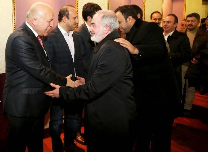 Başkan Sekmen, Erzurumlu İş Adamlarıyla İstişare Etti