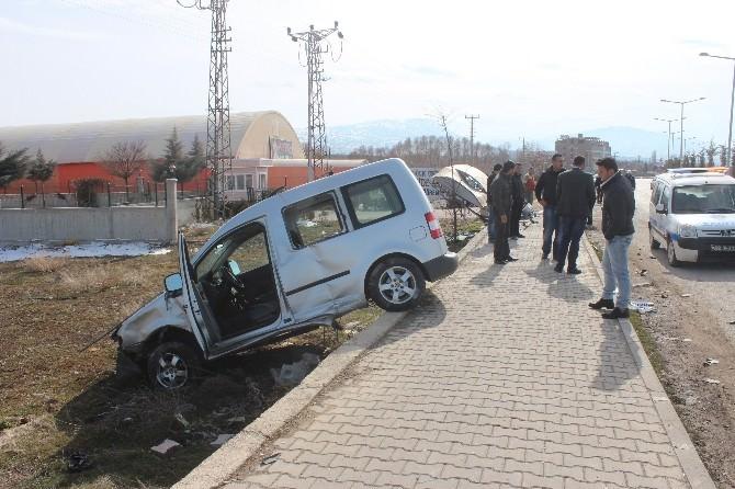Beyşehir'de İki Ayrı Kaza: 1 Yaralı