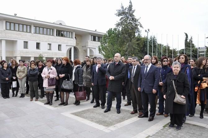 Mersin Üniversitesi Özgecan'ı Unutmadı