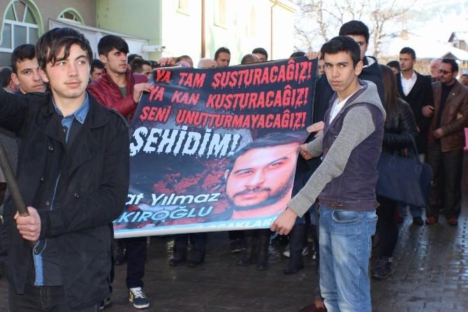 Suşehri 'Fırat Yılmaz Çakıroğlu' İçin Yürüdü