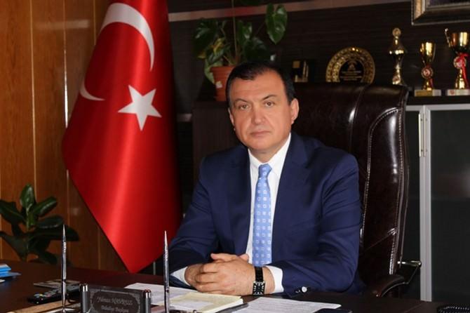 Yıldızeli Belediye Başkanı Navruz'dan Taziye Mesajı