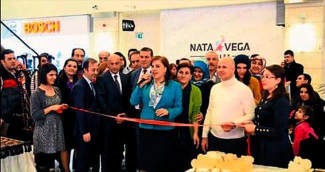 Altıneller sergisi Mamak'ta açıldı