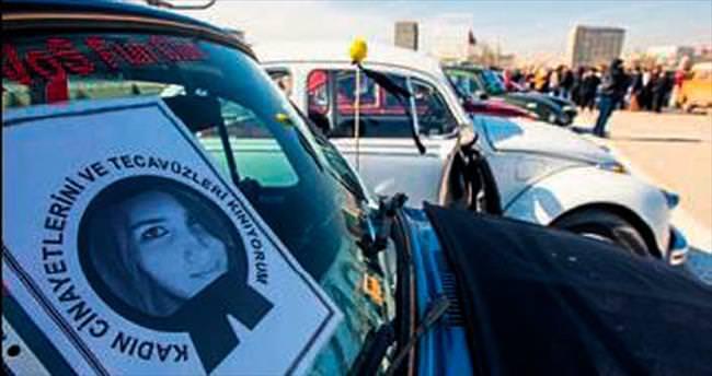 Kadına şiddete Vosvoslu protesto