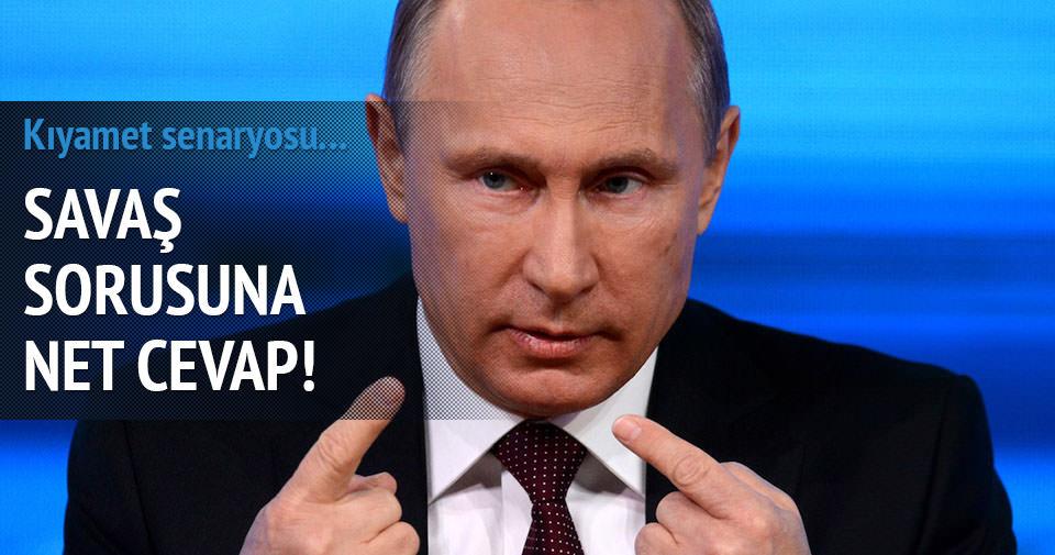 Putin'den kritik açıklama