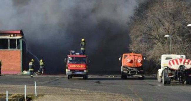 Belgrad'da yangın çıktı!